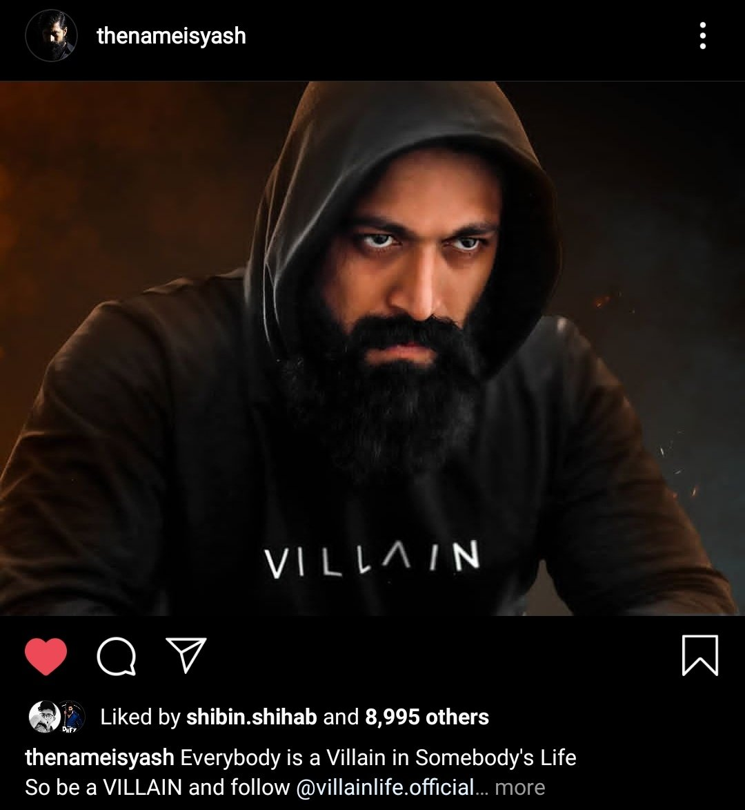 . @TheNameIsYash BOSS New Instagram Post😍🔥🔥  Link https://t.co/1f5qAYXK3y  #KGFChapter2 #YashBOSS https://t.co/oeh82NnT38