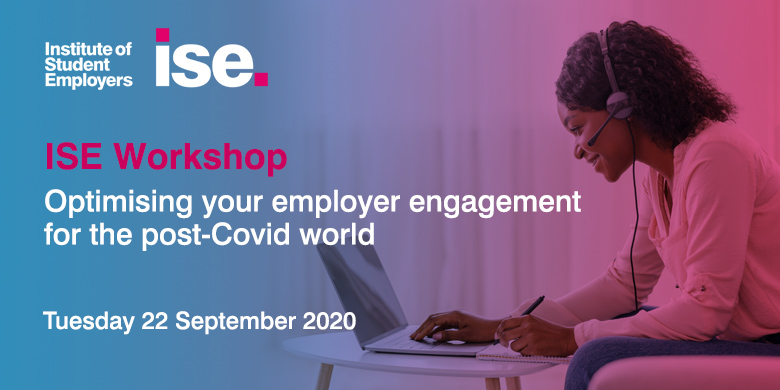 ISE research has demonstrated that #COVID19 has re-configured the way in which employers work with #universities. Register for our workshop to learn how to redesign your employer engagement and make the new world work for you.   Register today: https://t.co/AuFnQQno1H https://t.co/UIQI0Sa2PG