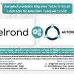 Image for the Tweet beginning: ❗️ @AI_Autonio Migrates Token &