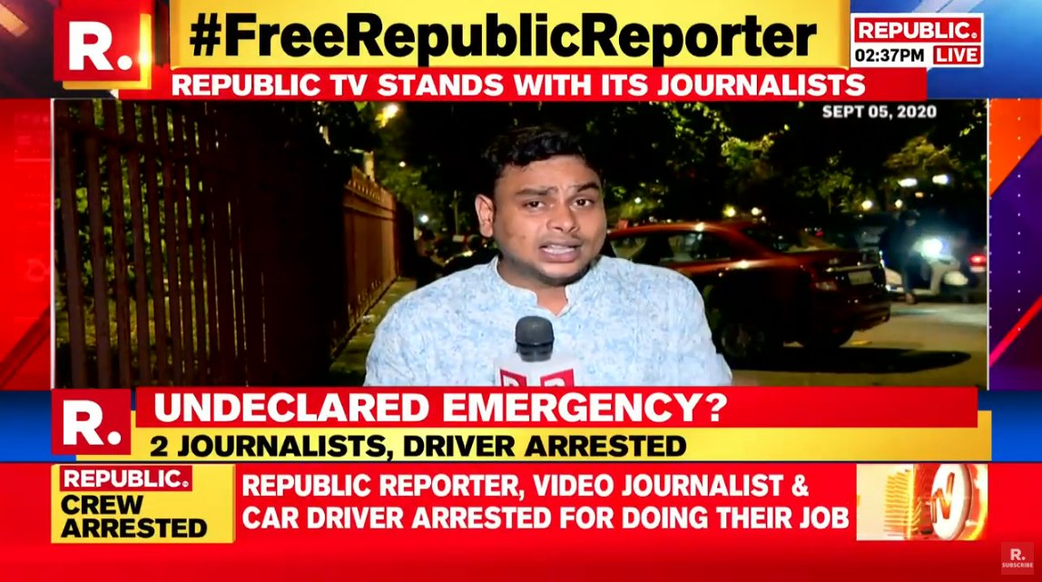Slowly mumbai is becoming pok❓ 1.demolished kangana's office 2. arresting news reporters 3. Filing FIR against kangana.  4. Sadhus are killed in front of police.  5. Targeting people who question government.  #IndiaForKangana #ShameOnBMC #KanganaVsUddhav https://t.co/hjNlOQ9YyP