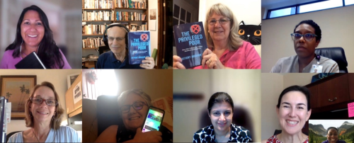 What a great way to start the day: hearing bookclubs reflect on lessons learned from #ThePrivilegedPoor! https://t.co/FMAd0JbzVw @ECUBrodySOM @MSUEntomology https://t.co/mefEnQVwIt