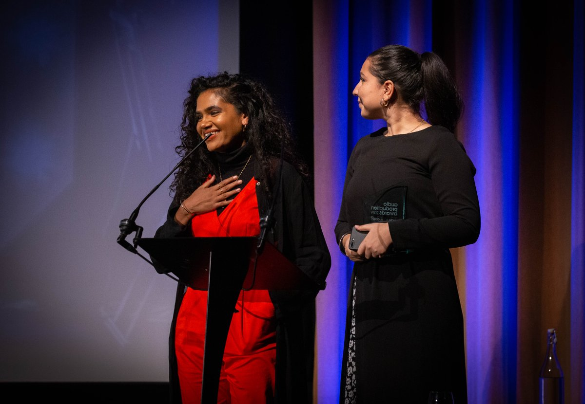 Last year @NafisaBakkar @selina_bakkar of @Amaliah_Tweets won the Grassroots Production award.   The judges said their entry was a standout project with great production and creativity 'discussing and challenging issues rarely explored in mainstream media'  2020 entries are open! https://t.co/g824ozW9gl