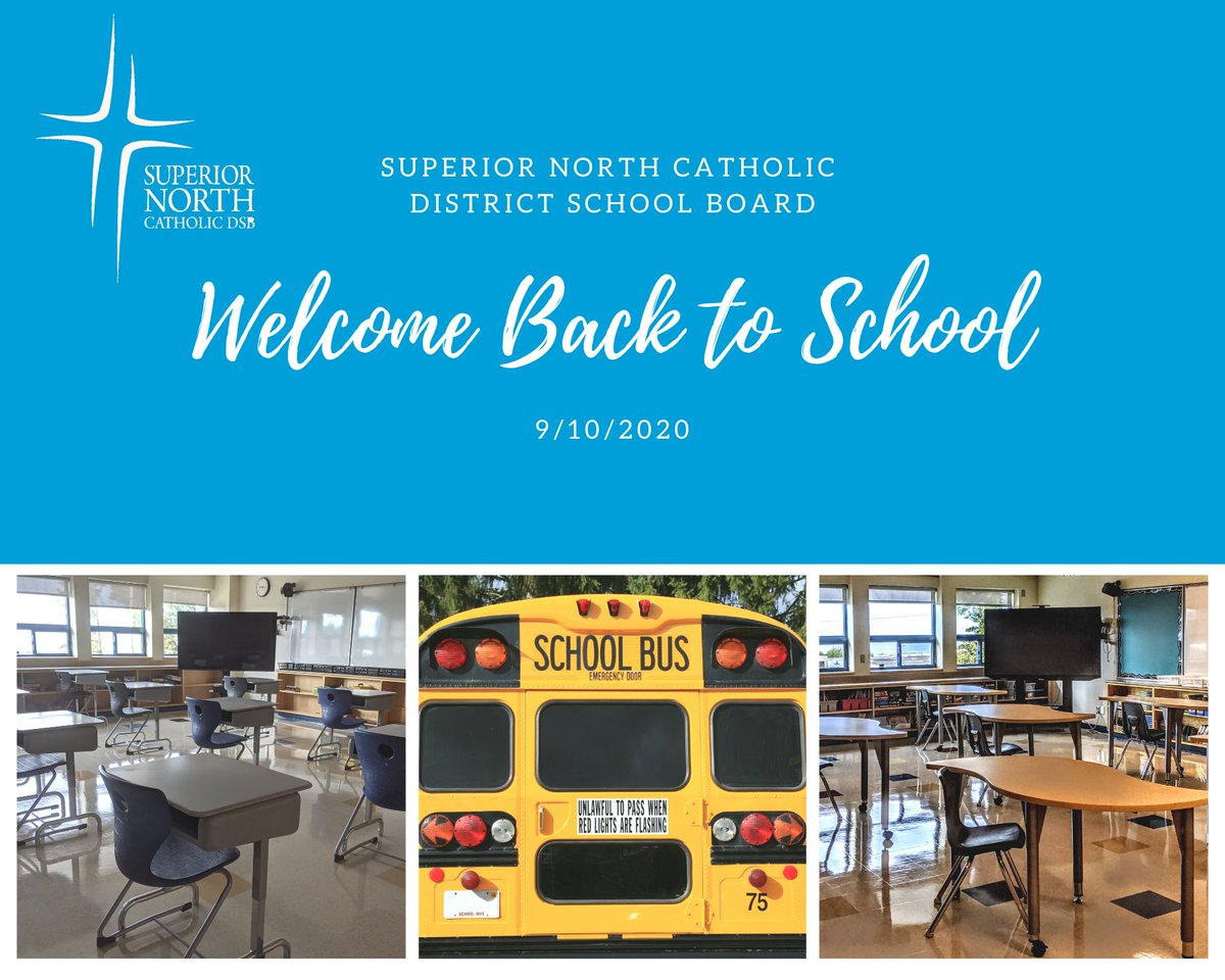 Today is the day! Welcome back to ALL #SNCDSB students! Happy official first day of School! https://t.co/XiFIct4ciA