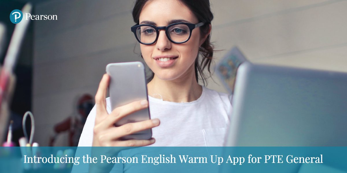 We're proud to introduce Pearson English Warm Up, a new, free mobile app that's designed to help students prepare for #PTEGeneral.  Find out more: https://t.co/7SH0Q91iCr  #PearsonEnglish #ExamPreparation https://t.co/BOF5maL8qr