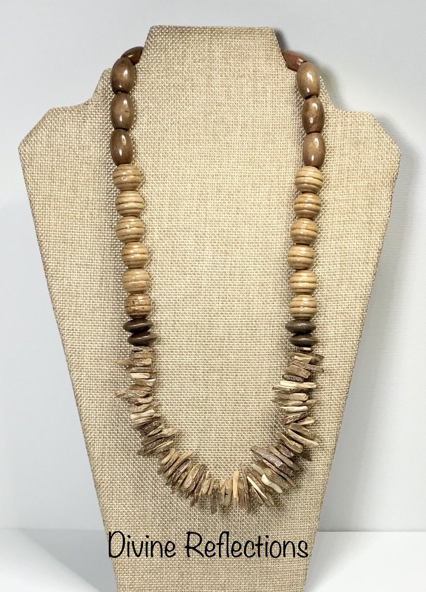 Boho Wood Necklace,Wood Chips,Waxed Cotton Necklace,Free USA Shipping https://t.co/YL8z3H51YA #woodnecklace #handcrafted #boho https://t.co/NQ6THRnPNc