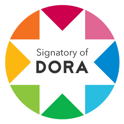 Head to https://t.co/xxytq8RDUF and sign DORA. Then download a DORA Signatory badge and show your support for #academicassessment reform https://t.co/vuOXKGvmhe
