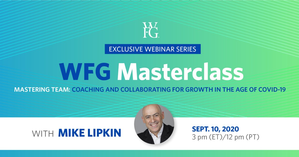 Join today's panel discussion on how to build a strong team with Mike Lipkin, an industry leading business coach, for his third and final Masterclass. Register now at https://t.co/KEDguPzCqQ. https://t.co/v9yZopf2IY