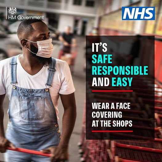 Face coverings protect you and everyone else. Find out more about when you should be wearing one: https://t.co/lmbJYy8Hpc https://t.co/KJTIXcYY4P