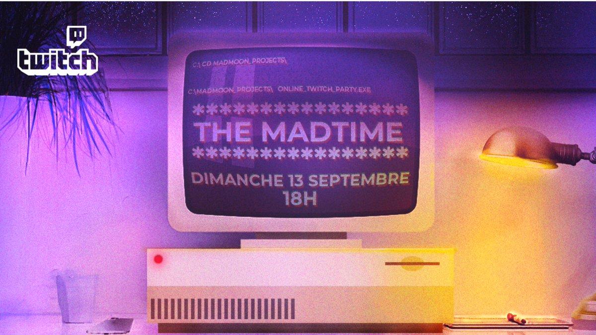 """Le retour de notre émission """"the mad time""""🌒 nous recevront @RavingzBass et conspiracy évent pour l'occasion 😎🙏 Toutes les infos de l'événement sont sur notre page Facebook 💜  #hardmusic #hardcore #hardstyle #madmoonevent #hardfamily #hardevent #raw https://t.co/1TxxaWSQez https://t.co/uKP5kWO1vj"""