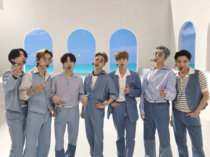 BTS Dynamite Jimin Visit Seoul