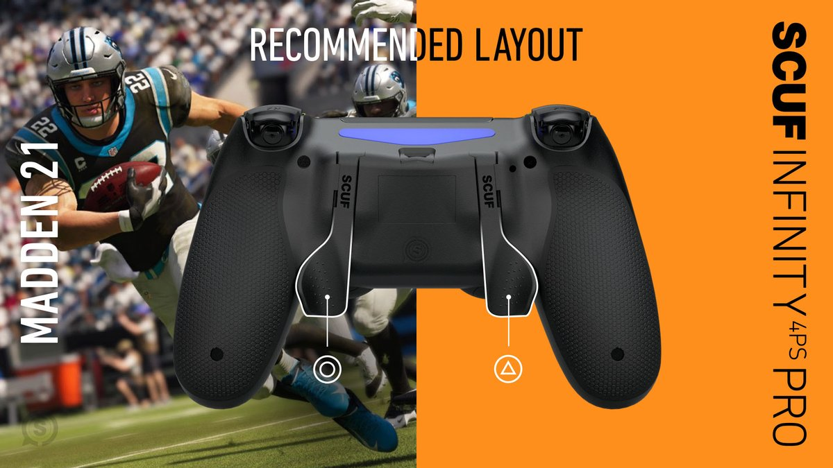 Football is back in season. Take the Ws in #MaddenNFL21 with these SCUF layouts.