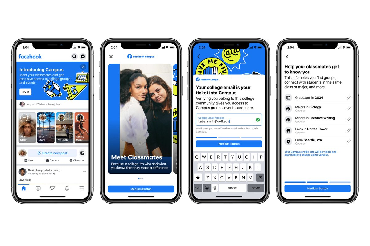 Facebook reinvents Facebook with the launch of Campus for college students
