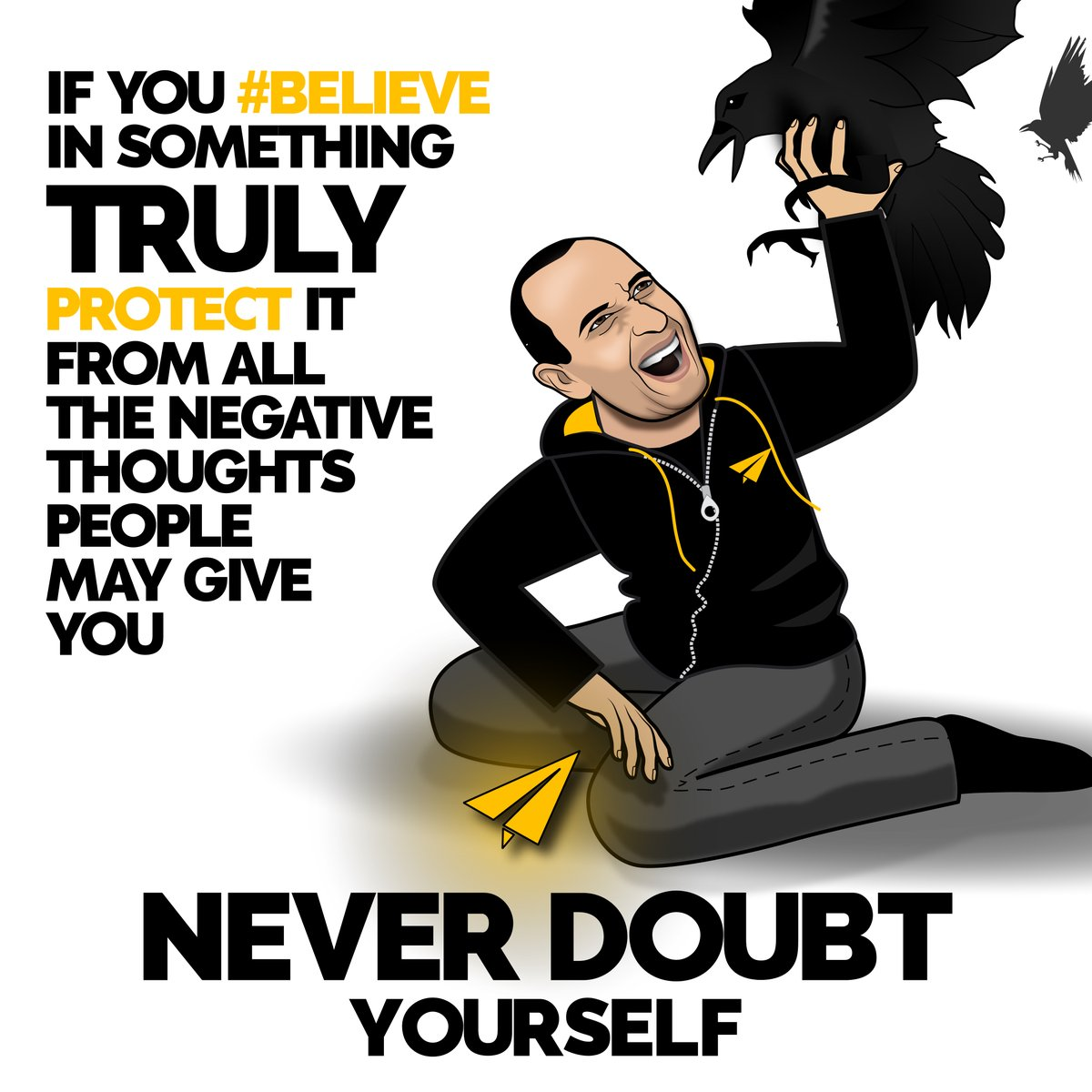Leave a 💛💛 below if this message spoke to you 👇  If you #Believe in something, truly protect it from all the negative thoughts people may give you. Never doubt yourself. ______________________________________ #bestadvice #personaldevelopment #consulting https://t.co/uRQTS199sP
