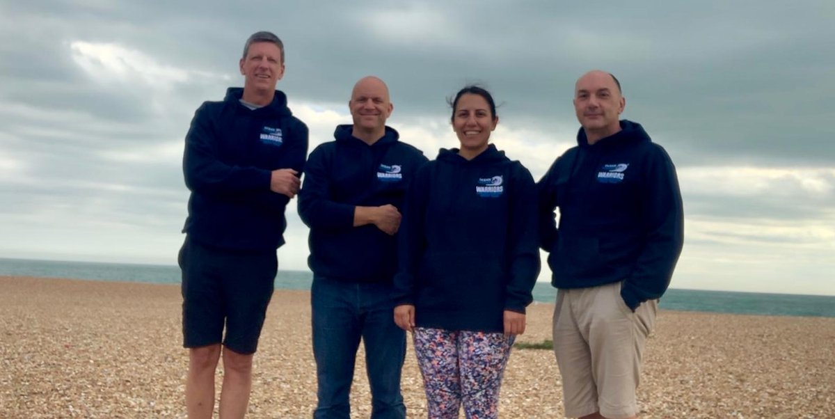 Good luck to Tim from @Fieldfisher and the Ocean Walker team who are currently swimming over 20 miles in the English Channel in support of St Mungo's. 🌊    Thank you for raising money to help us #EndHomelessness.   Fancy taking on your own challenge?  👉  https://t.co/Ti2AFddeHn https://t.co/2q5oIblE1K