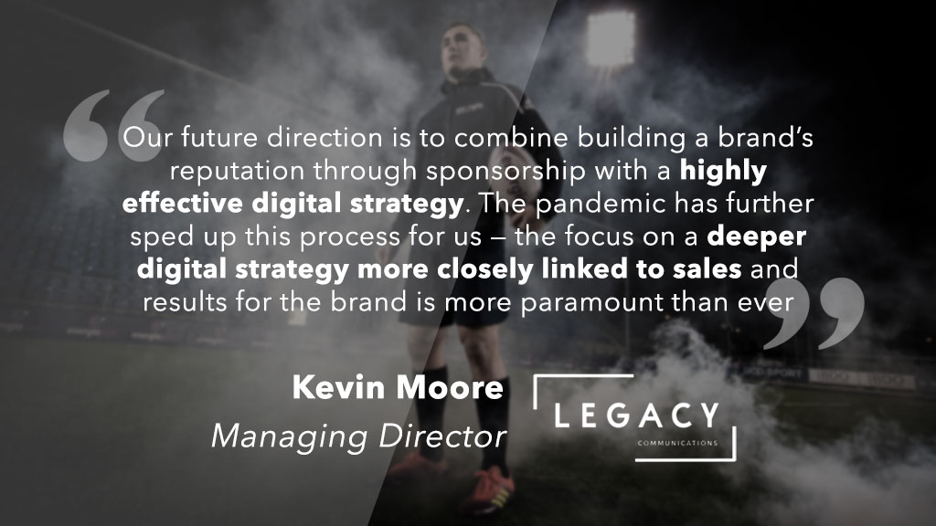 ESA Member Spotlight | @Legacy_Comms 🔦  We speak to @kevmoore79, Managing Director of Irish sponsorship and communications agency Legacy, about working with @LittlewoodsIRL and Energia, innovation, responding to COVID-19 and more!  Check out the Q&A 👇  https://t.co/jBmL4wUqqc https://t.co/9dNhEnNU0W