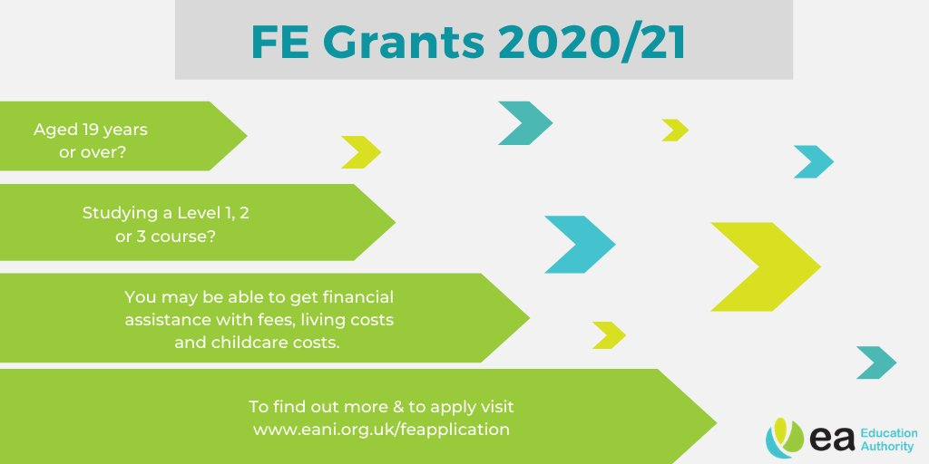 Further Education Grants Scheme closes on the 30 September 2020.   Have you submitted your application?   You must be aged 19 or over on 1 July 2020 and studying a FE course Level 1, 2 or 3. To find out more https://t.co/AWf0nmpRR1 #FEGrants https://t.co/Pcf2uaVAlq