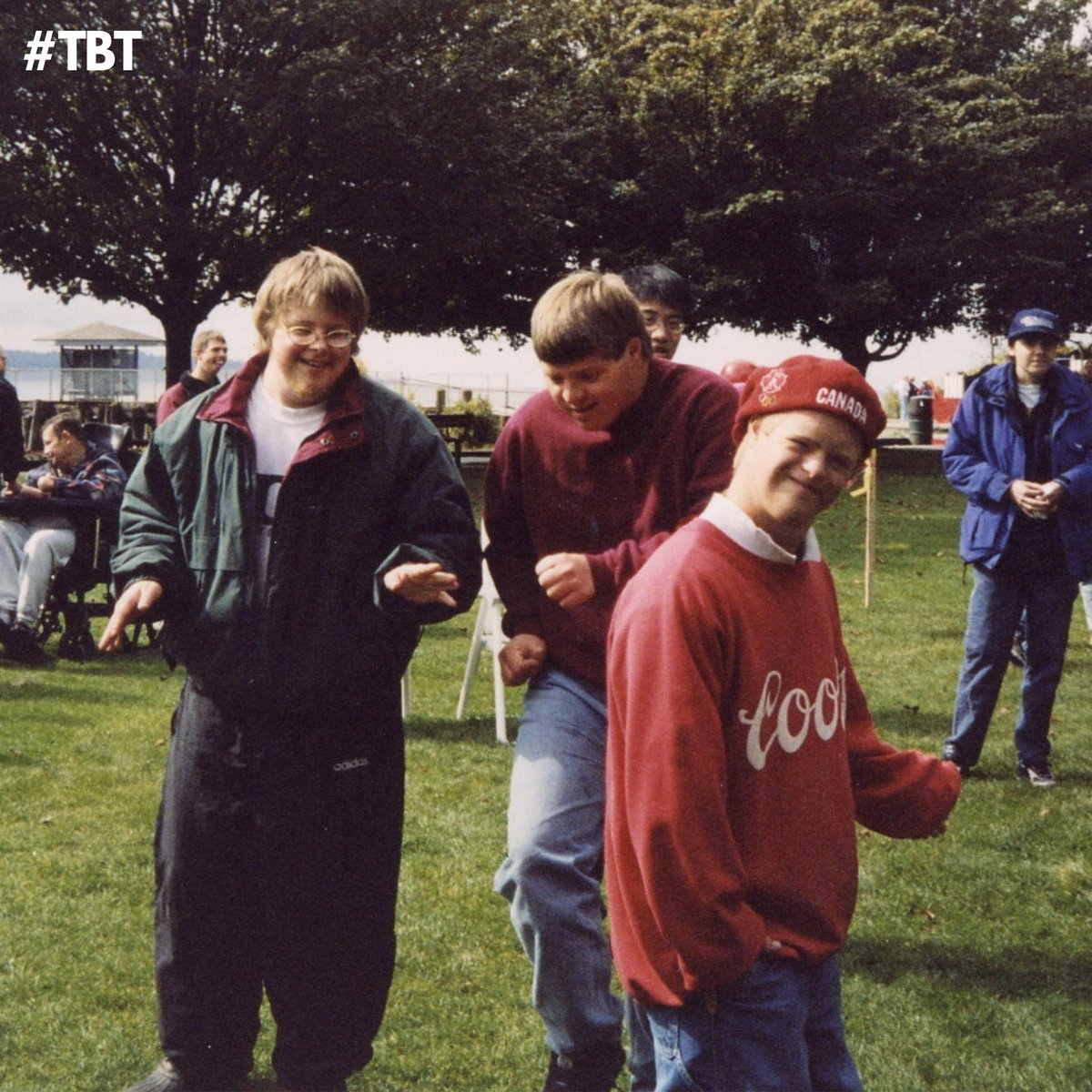 #TBT 20 years ago at the Summer Family BBQ! #NSConneXions #Throwback #InclusionMatters #Summertime #BeHappy #NorthVan #NorthShore #SummerBBQ https://t.co/9sKIuEgJiq