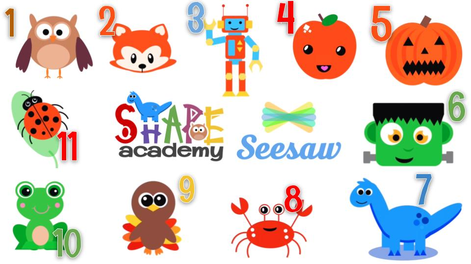 "🚨Don't Forget!! 🦕Shape Academy Activities are all in the @Seesaw Community Library!!🎃 Just search for ""Shape Academy""  Learn how to create with shapes with these fun activities!!  #distancelearning #remotelearning #seesawchat https://t.co/0OVLVZKIVH"