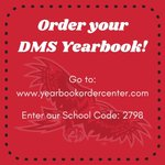Image for the Tweet beginning: Order your DMS Yearbook!