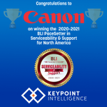Image for the Tweet beginning: Congratulations to @CanonUSA for winning