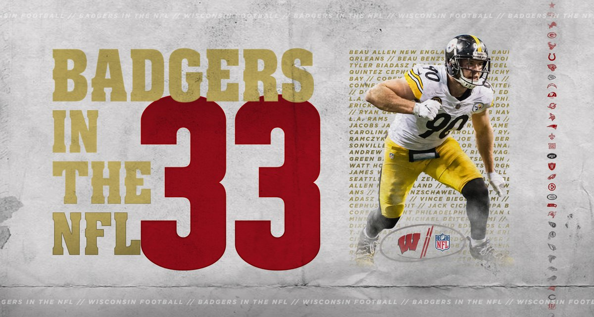 On, Wisconsin On to the NFL  #ProBadgers