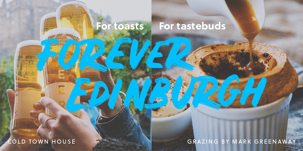 #edinburgh is home to such a thriving food & drink scene:    FOR healthy eating 🥗 FOR comfort food 🍫 FOR afternoon tea ☕+ 🍰 FOR find dining 🍴 FOR nips 🥃 pints 🍻 wine 🍷  FOR Toasts and FOR Tastebuds 👇 https://t.co/8ghueBn0t2  #ForeverEdinburgh #ThisisEdinburgh #StaySafe https://t.co/C2JjmFs19P
