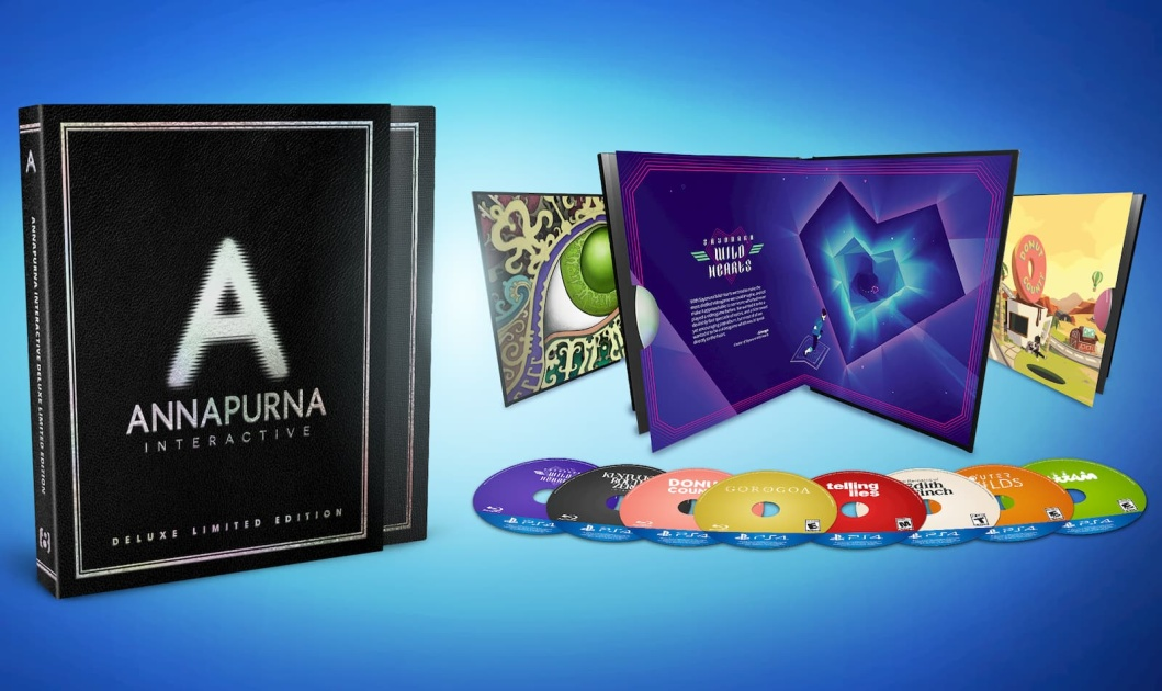 Annapurna Interactive is releasing a PS4 box set with eight games