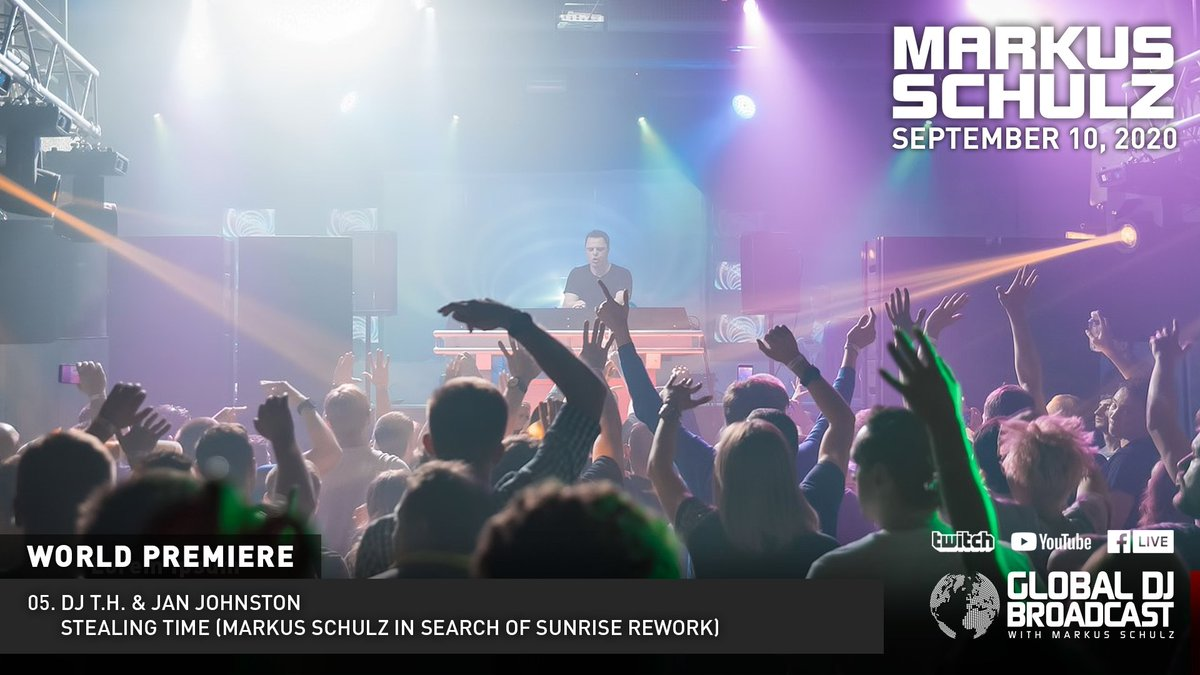05. @DJ_T_H & @JanJohnstonUK - Stealing Time (Markus Schulz In Search of Sunrise Rework) [World Premiere] #gdjb  Coming soon to @coldharbourrec   https://t.co/C4a4voLzuA https://t.co/vrwlQ8fz07