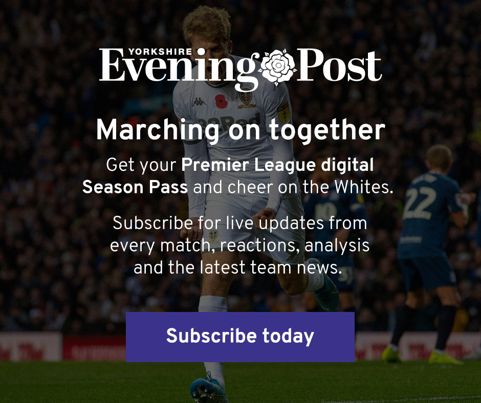 You asked, we listened. 🙌 #lufc Leeds United fans can now subscribe to our football coverage ONLY with a brand new digital online purchase option. ⚽️📰 Full info here 👉 bit.ly/3bMlNpC