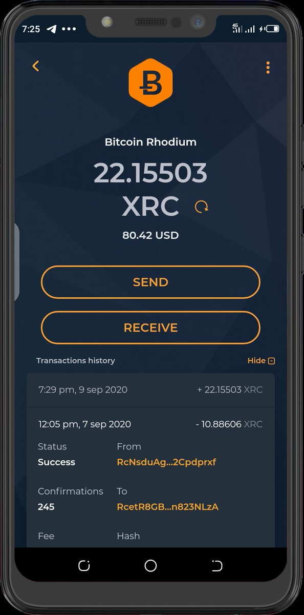 Securely store your $XRC on #Magnum wallet, a non-Custodial wallet for #BTC #XRC #ETH #XTZ  and a large number of other #cryptocurrencies  #BitcoinRhodium #DeFi #fintech #altcoins https://t.co/xTTjuQ6Uh2
