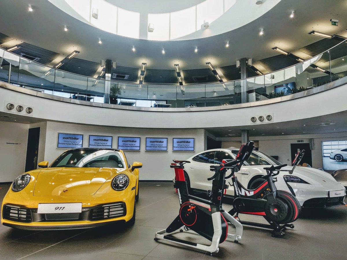 Squad goals 💪  Porsche Human Performance Centre is advancing athlete training and performance testing with Wattbike AtomX and Wattbike Nucleus  Read more ➡️  https://t.co/tOeCX9Q3SZ https://t.co/Ivp63pYJtb