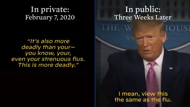How many more people have to suffer because of President Trump's lies?