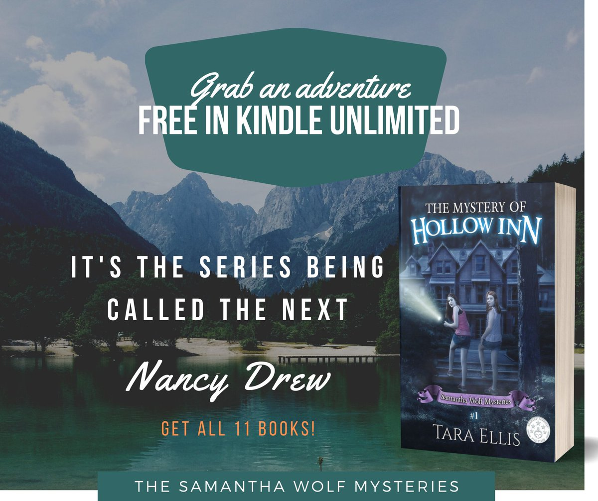 A mysterious mansion deep in the mountains of Montana is where Sam solves her first #Mystery. Don't miss this fun #MiddleGrade #series! #adventure  #NancyDrew        https://t.co/shMcTVJQk7 … …  https://t.co/9U6imY6cjt
