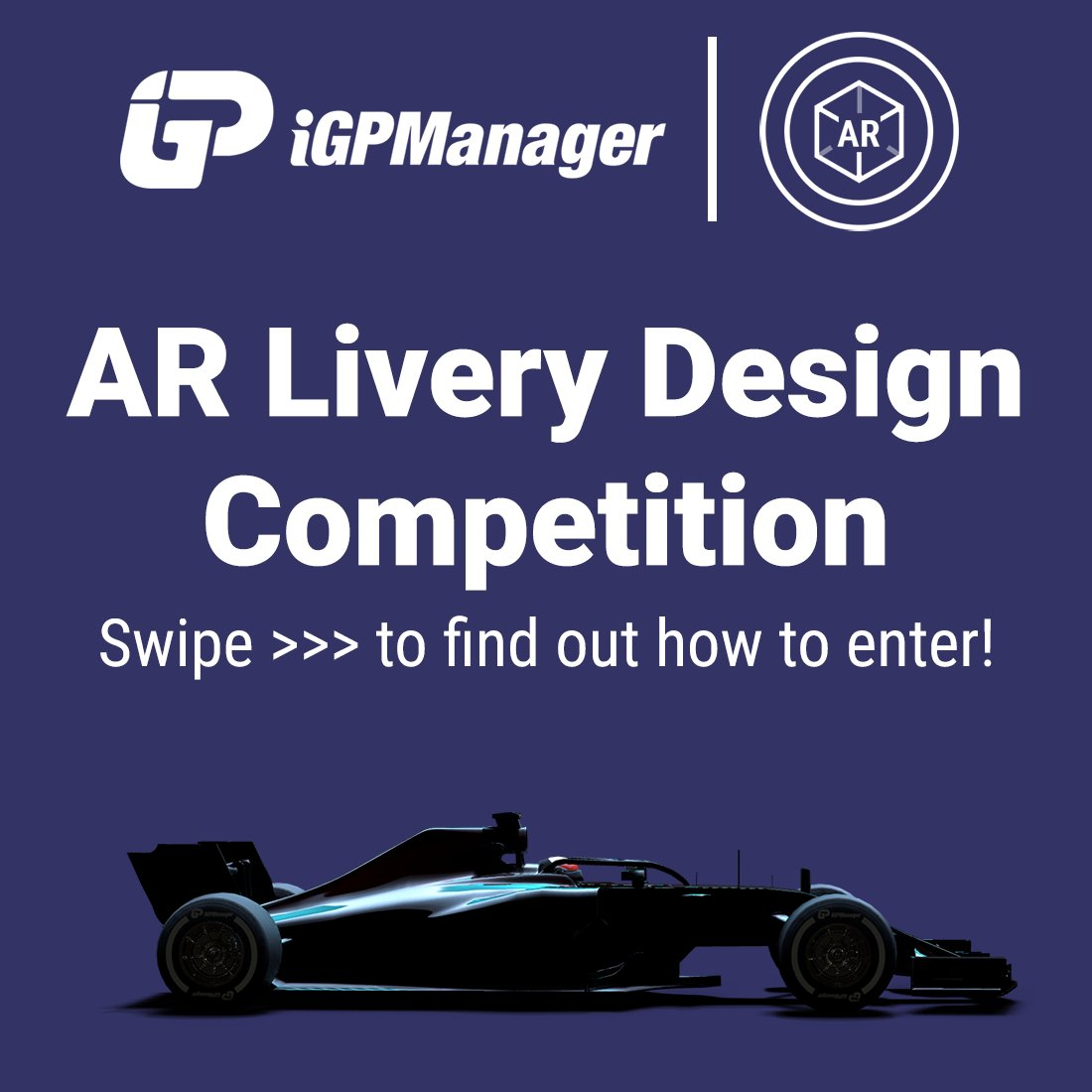 Announcing our AR Livery Design Competition! Reply with your iGP Manager liveries in the AR Livery Editor as detailed in the post, and the winning entry will get 50 tokens!  Competition entry closes at midnight on the 31st of September, so get creative with your AR creations! https://t.co/CeAcxrUGUQ