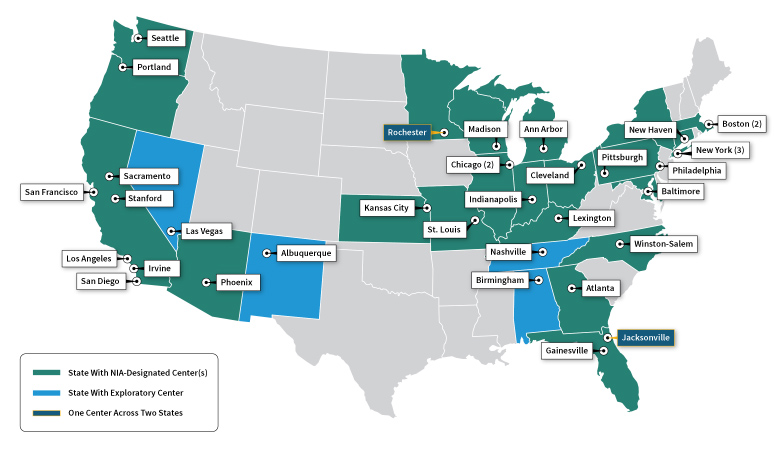 Thrilled to see new @Alzheimers_NIH centers added but the map tells a compelling story about gaps: Medicare data shows that Latinos in TX are among the hardest hit by #Alzheimers yet federal research infrastructure in the state is anemic https://t.co/stxWcbczP7 #BrainHealthEquity https://t.co/F86smF6klf