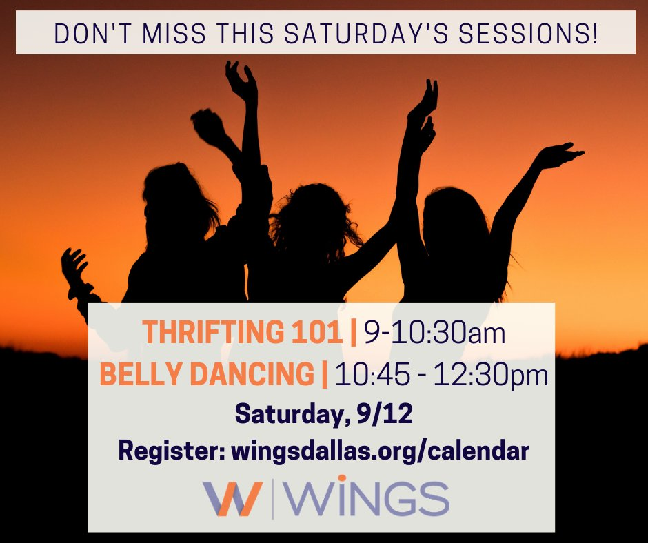 test Twitter Media - Ready to start your Saturday off right?! Join us for our virtual sessions; Thrifting followed by Belly Dancing! As always, these are free sessions open to all! Register today by visiting https://t.co/VaAFMOs4HS. #thrifting #bellydancing #freeclasses https://t.co/zgS6sps8VF