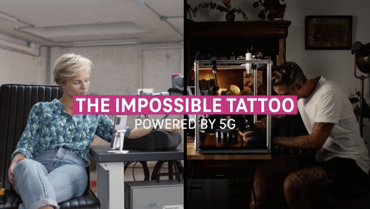 We teamed up with @tmobile & @anomaly Amsterdam to create the world's first remote tattoo done with 5G.  Discover more: https://t.co/0gKI8z1grL  #themill #millexperience #creativetechnology #5G #mobile https://t.co/QpbtNOjPm5