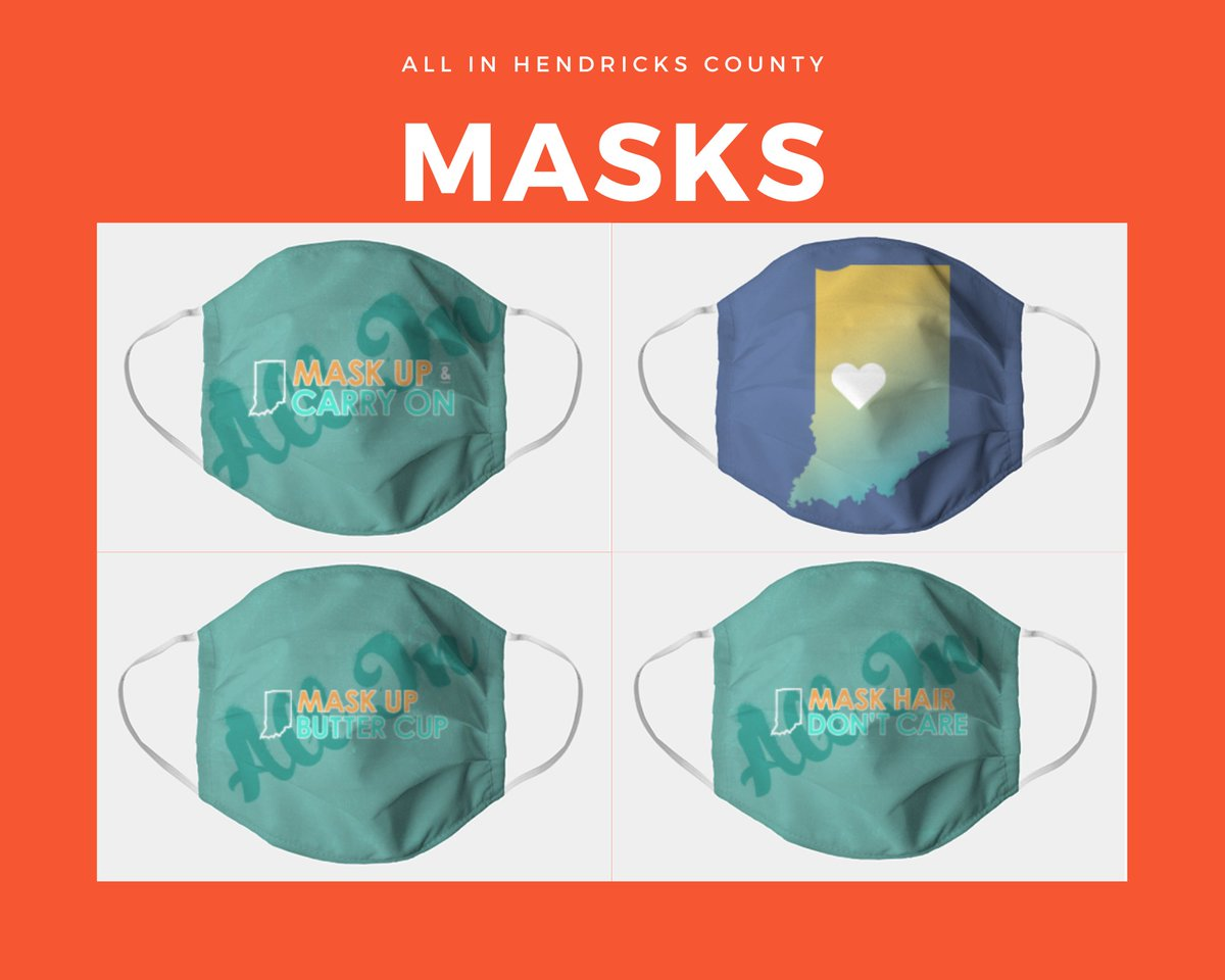 Hendricks County has been All In throughout the pandemic. Thanks for wearing your mask wherever you go!   Check Out our Mask Gallery or Buy Your Hendricks County Mask Today @Hendricks_Co @HendricksHealth @myHCICON @hcbizleader   https://t.co/Z3wAfZBpSp https://t.co/wpEU4EQzN2