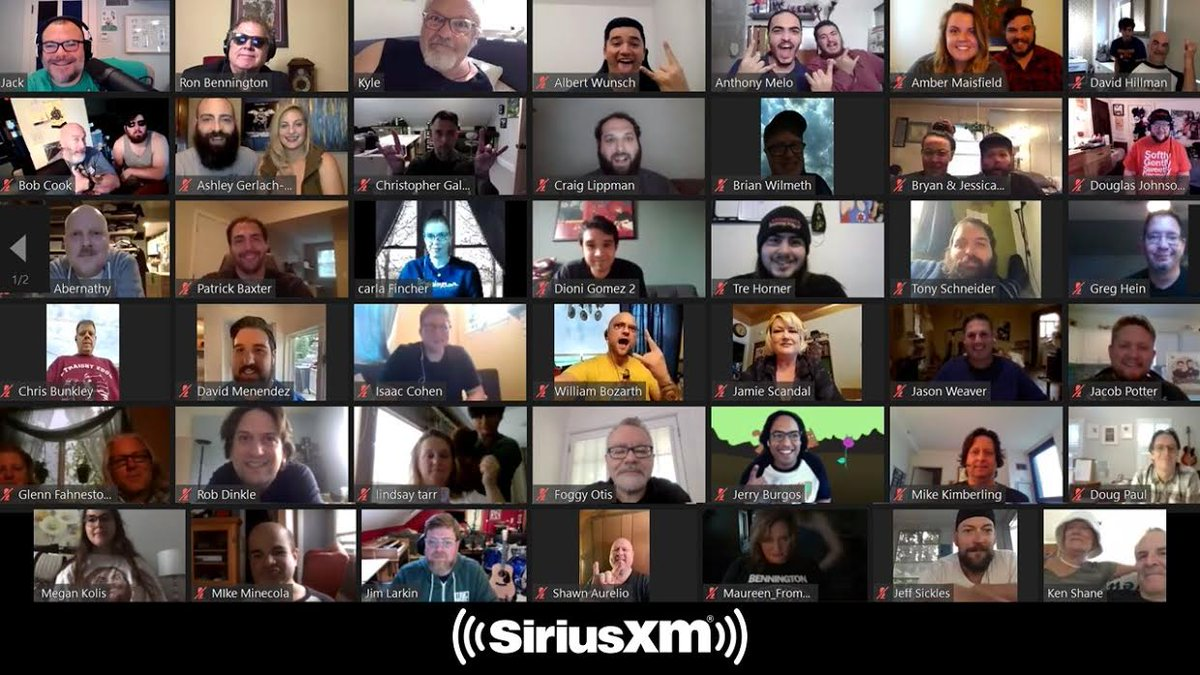Here's another tip: Catch JB and KG's @siriusxm Virtual Town Hall as it debuts on Faction Talk (Ch. 103) tomorrow at 4PM ET! Thanks to the D-ciples that joined as the virtual audience! https://t.co/Muu1POS2f6 https://t.co/7uYJIvyoaG