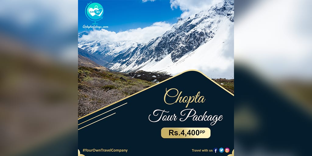 #Chopta Tours mostly combined with trekking package of #Tungnath Temple and #Chandrashila.  Book your 1 nights 2 days starting with Rs. 4,400 per person  For Bookings, don't hesitate to contact our #GoByExperts  ☎Call us at +91-7983437440, 9315759516 #GoByHolidays #uttarakhand https://t.co/f1fo2vLpPv