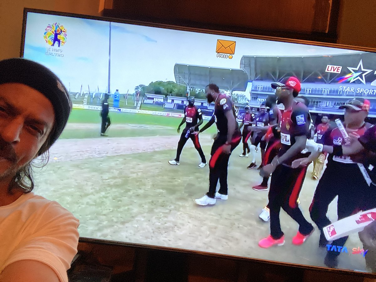 Thank you Trinidad & Tobago and the @CPL for the tournament. @GoToTnT https://t.co/0vdOCZH0SK