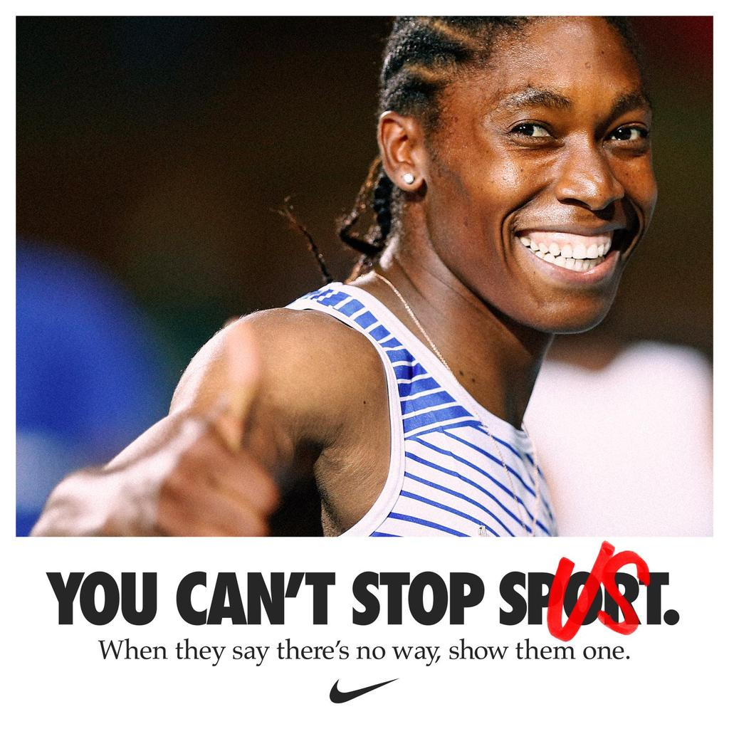 I will continue to fight for the human rights of female athletes, both on and off the track, until we can all run free the way we were born. #youcantstopus https://t.co/pnboZawIzU