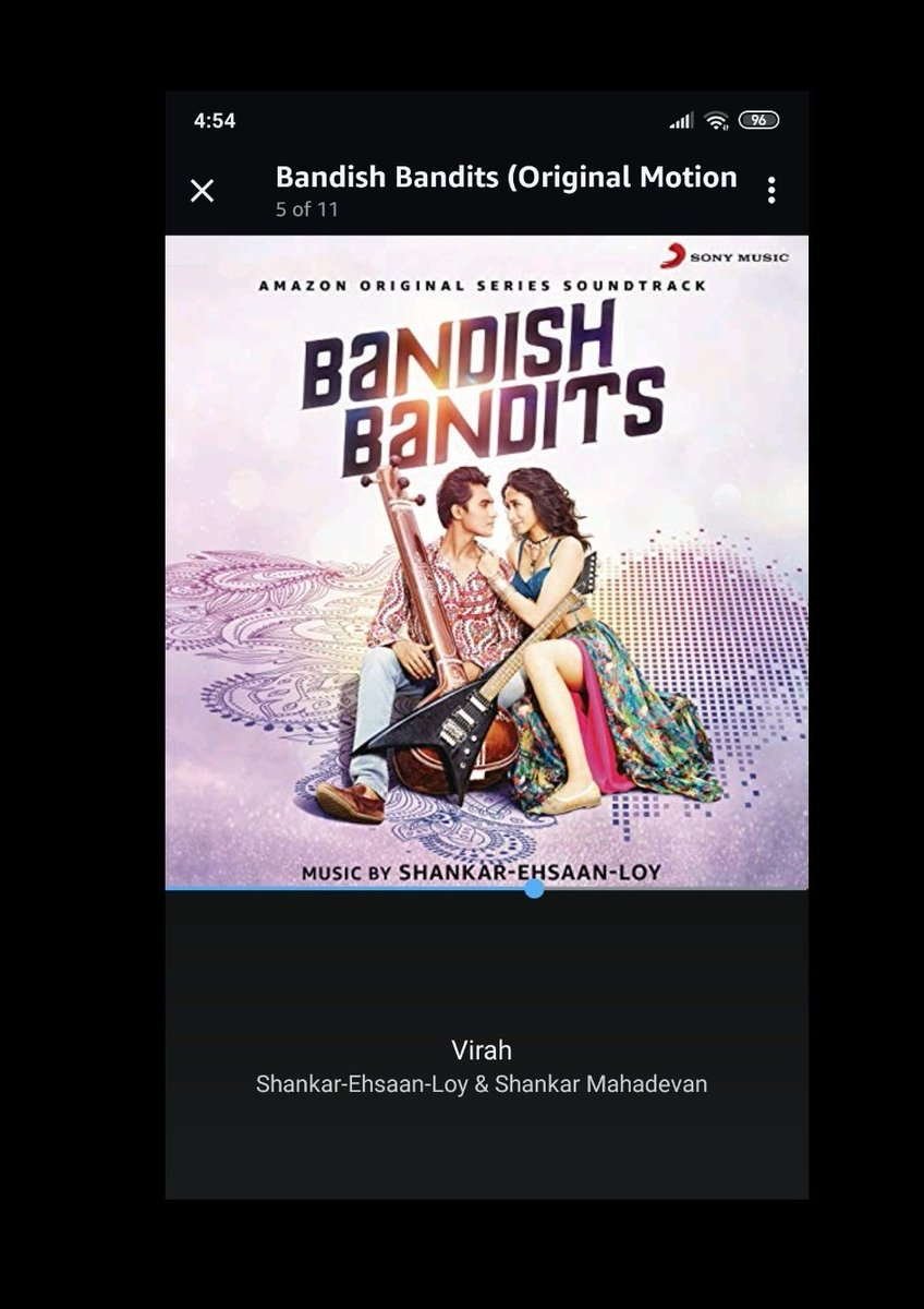 This is such a lovely piece ❤️❤️❤️ It's almost 5 in the morning, I  have a 9 am meeting tomorrow and I'm still hooked @Shankar_Live @ShankarEhsanLoy thank you for this one👏👏👏 #virah https://t.co/8O5xzb9IEu