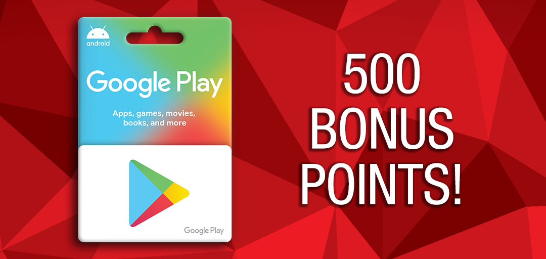 Who doesn't love extra bonus points?! For a limited time get 500 bonus points on every $25 Google gift card purchase! 😀  #SpeedyHint: Download our mobile app to get even more specials through Speedy Deals! 🌟 https://t.co/8asDbpNoKp