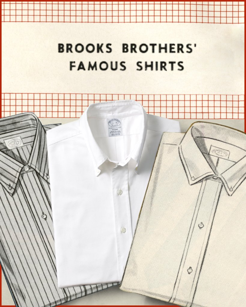 Fashion's most imitated item, the #BrooksBrothers Button-Down, is known the world over to be the original.  Learn more about the making of an icon in our #BrooksBrothersMagazine: https://t.co/iNgj0UXZqb  #TBT https://t.co/JKQjTSm4DS