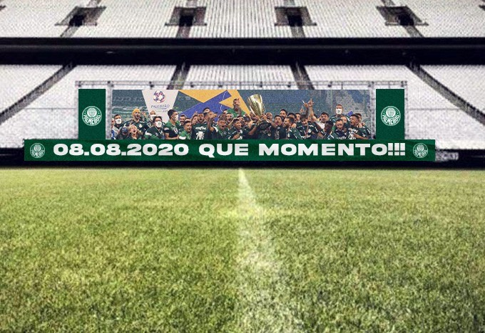 Após vitória no clássico, Palmeiras provoca Corinthians e torcedores vão na onda