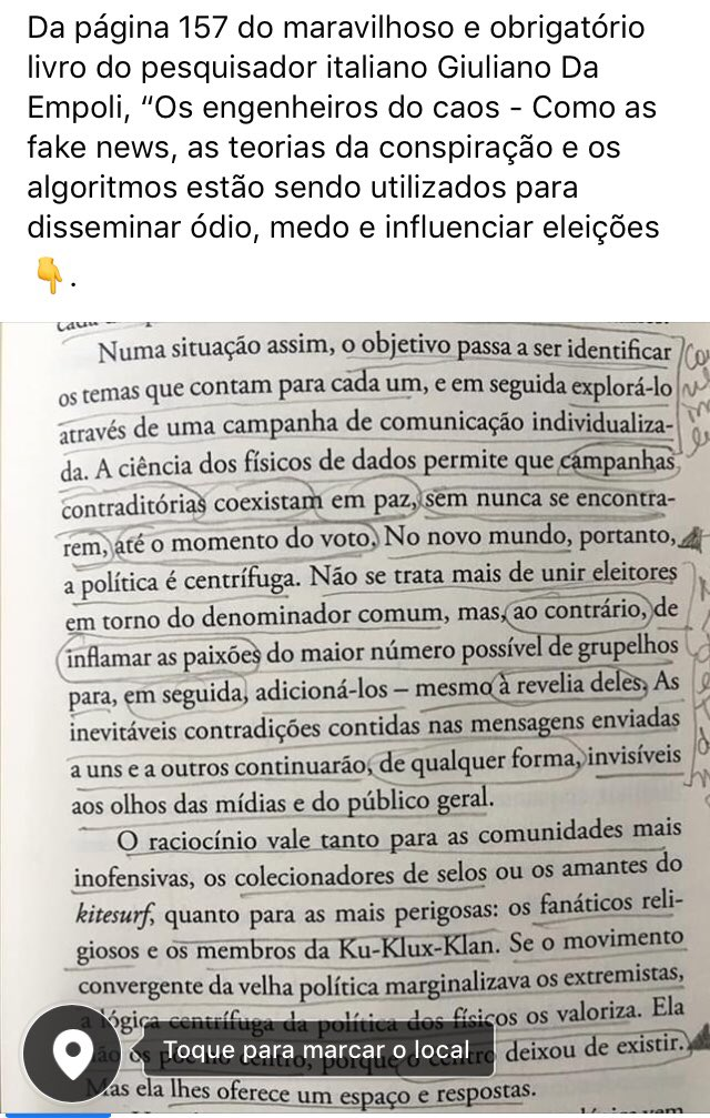 #fakenews #eleições2018 #savebrasiliandemocracy #giulianodaempoli https://t.co/unThDAADeC