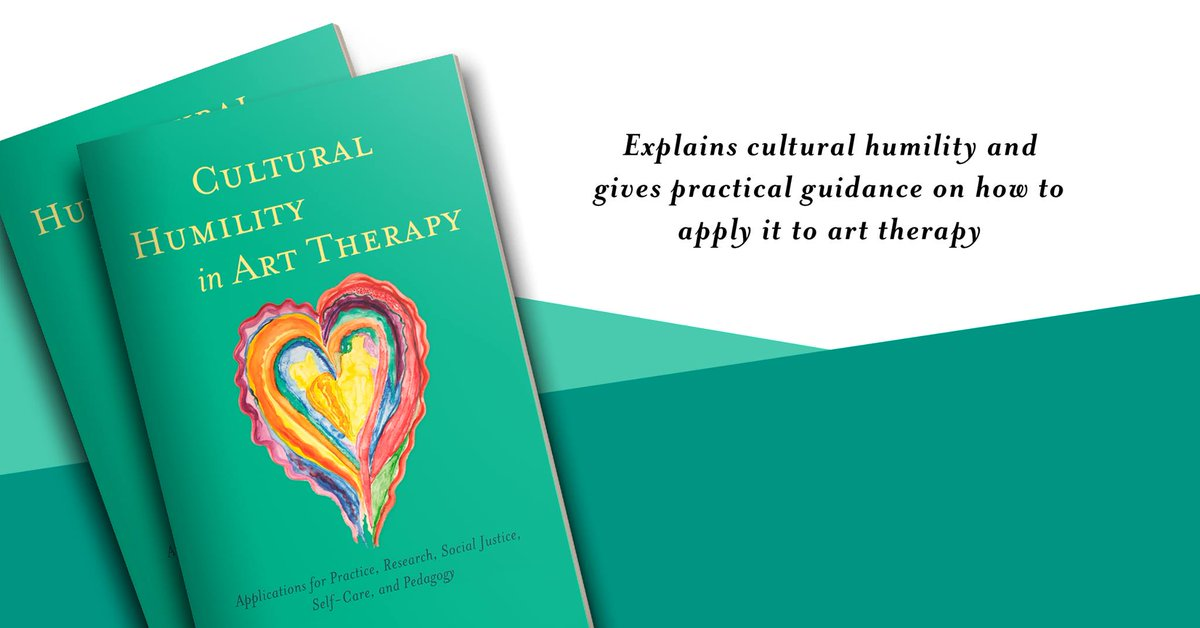 """Vital for BAME practitioners, useful for all."" - Jean Campbell, Artist Educator.  Order your copy of Cultural Humility in Art Therapy today! https://t.co/foF3aqVEGS #arttherapy #culturalhumility https://t.co/YqoxqB3Pjw"