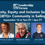 Image for the Tweet beginning: The US Sailing Leadership Forum: