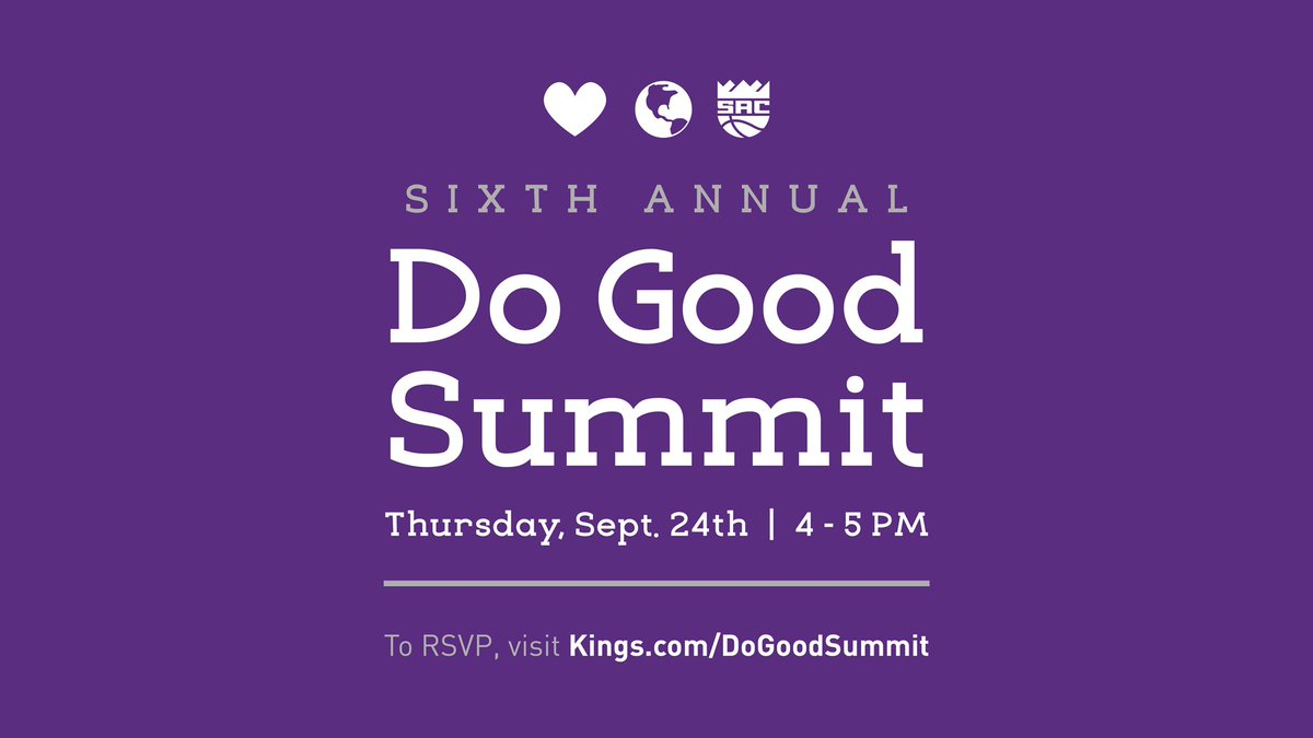 Calling All Nonprofits!   Join us at our annual (virtual) Do Good Summit on September 24 to learn updates from the community department and discuss opportunities to partner.  RSVP: https://t.co/4gZvVdKwtI https://t.co/l7WGo9VAY7
